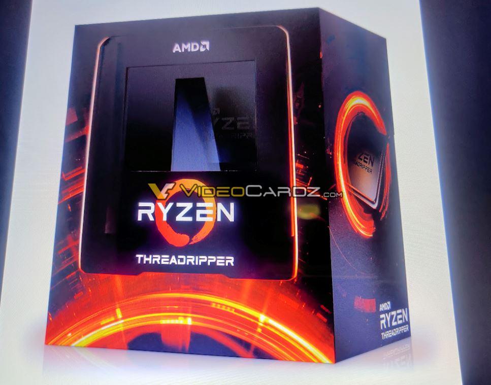 Xuất hiện hình ảnh của CPU AMD ThreadRipper 3000 Series bản thương mại