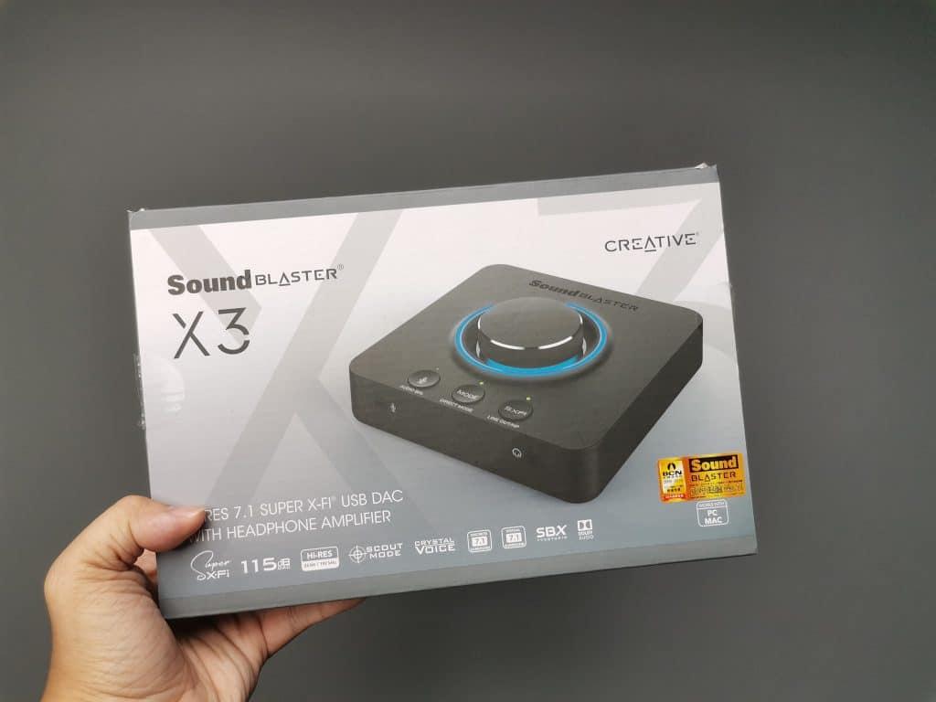 Đánh giá Creative Sound Blaster X3 - MMOSITE
