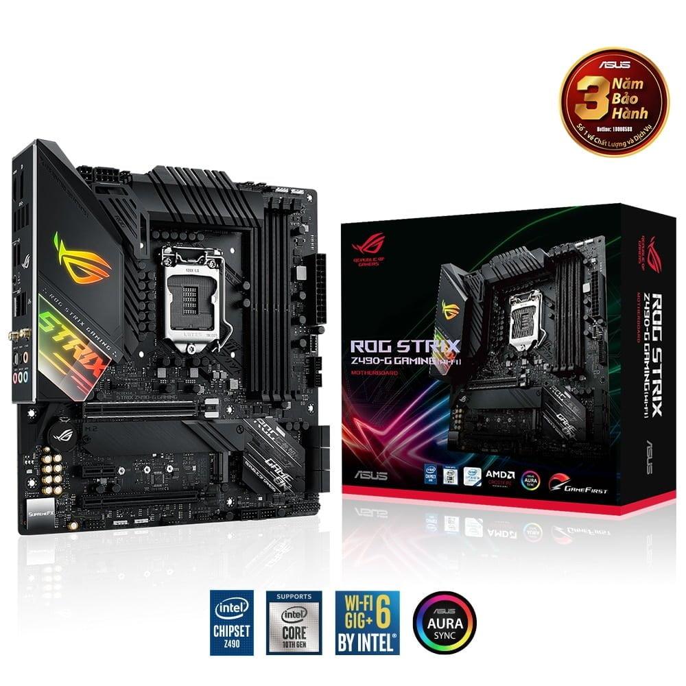 ASUS ra mắt tận 17 bo mạch chủ Z490 mới dành cho dòng CPU Intel Thế Hệ 10