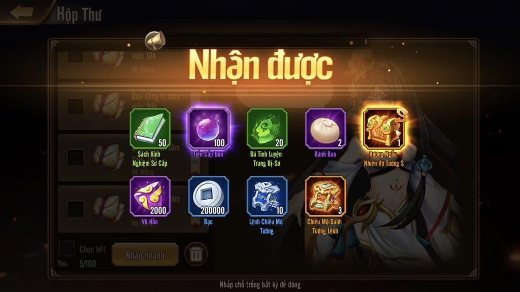 Thiếu Niên Danh Tướng 3Q lọt top bảng xếp hạng game đề cử trên Google Play và App Store