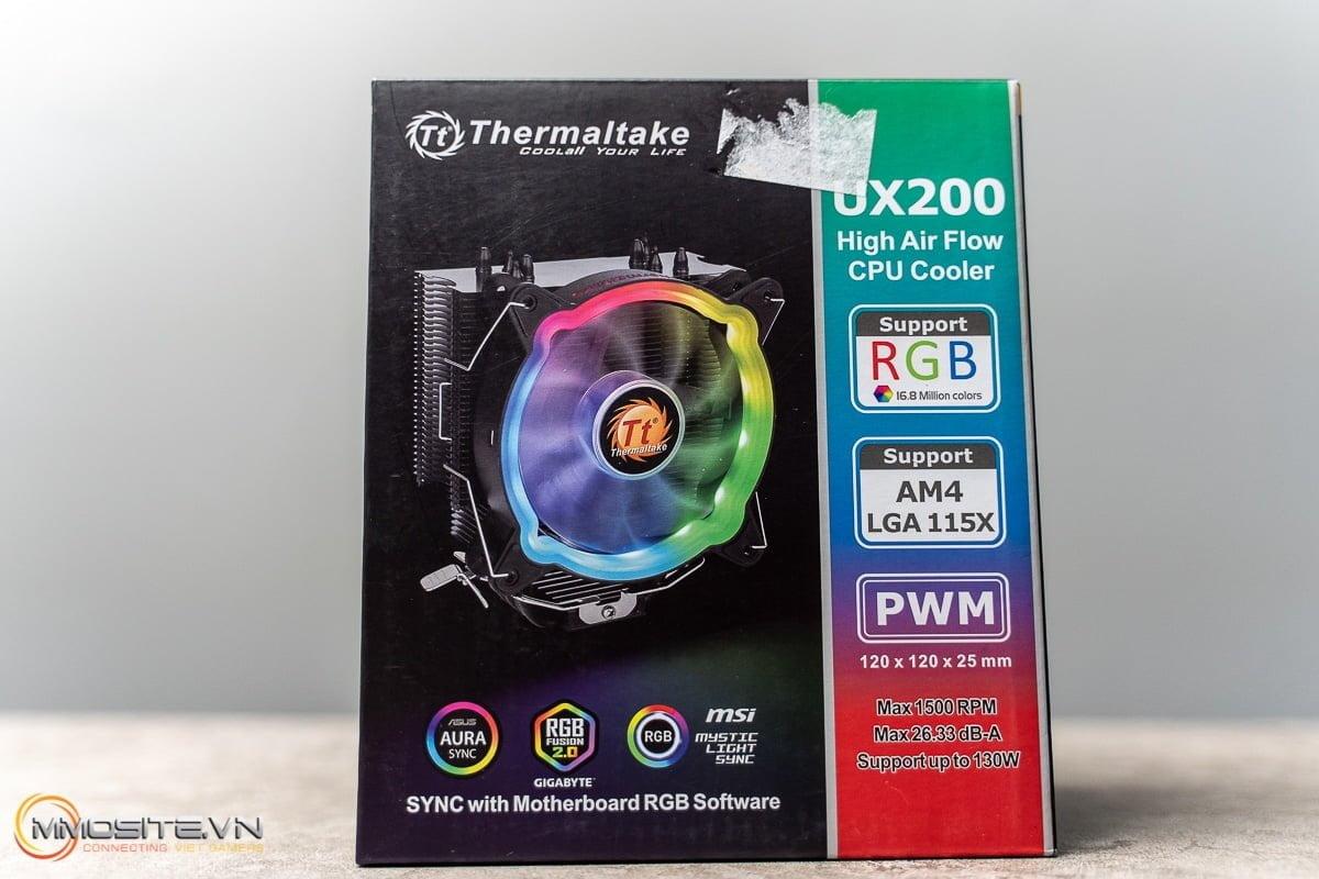 [Review] Tản nhiệt khí Thermaltake UX200 ARGB