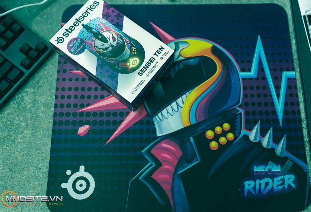 [Unbox] Sensei Ten và mouse pad phiên bản Neon Rider từ SteelSeries