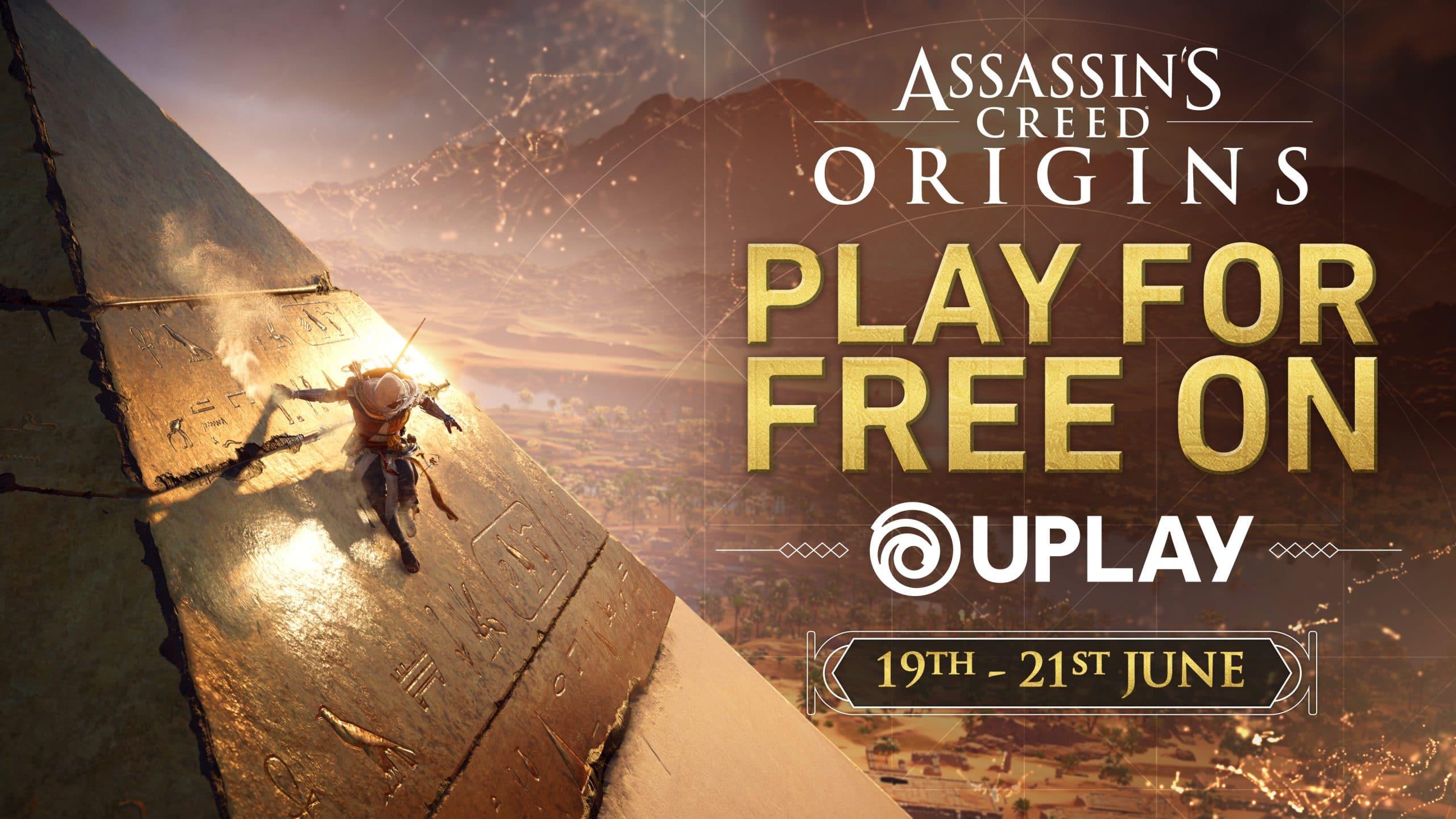 Ubisoft cho người chơi trải nghiệm miễn phí Assassin's Creed Origins vào cuối tuần này