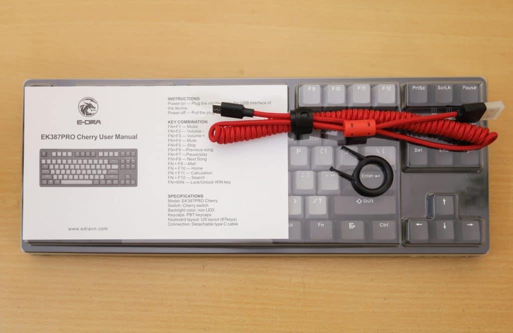 [Review] E-Dra EK387 Pro Cherry: Bàn phím cơ siêu hot phân khúc bình dân