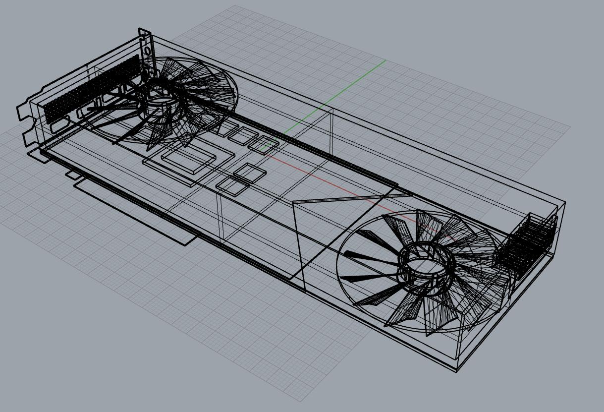 Ảnh render của GEFORCE RTX 3080 cho cái nhìn rõ ràng hơn về sản phẩm