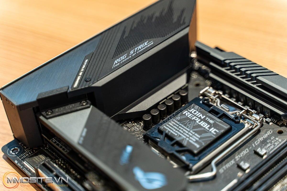 ROG STRIX Z490-I GAMING - Tổng quan về mainboard ITX Z490 cao cấp của ASUS