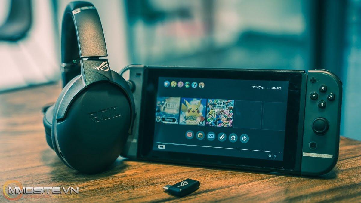 Đánh giá tai nghe ASUS STRIX GO 2.4GHz - Ai bảo chơi game là phải ngồi một chỗ