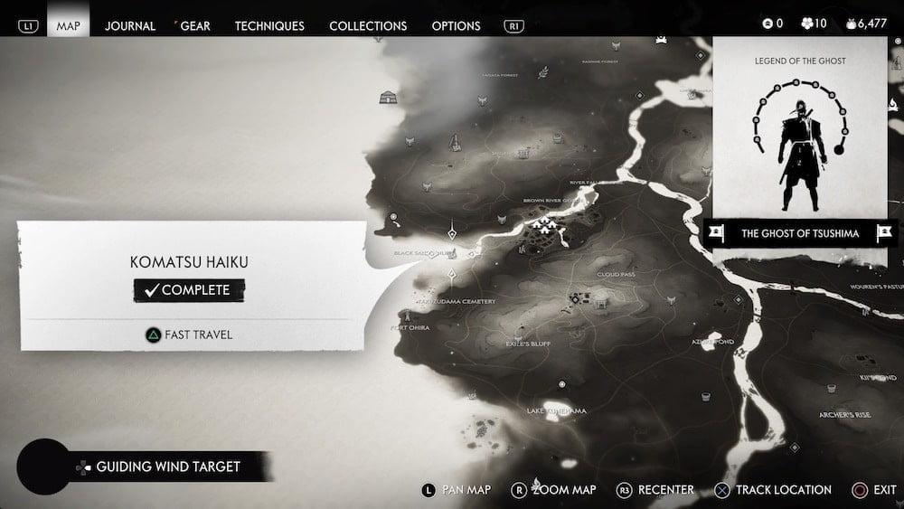 [Hướng dẫn]Vị trí Haiku ẩn trong game Ghost Of Tsushima
