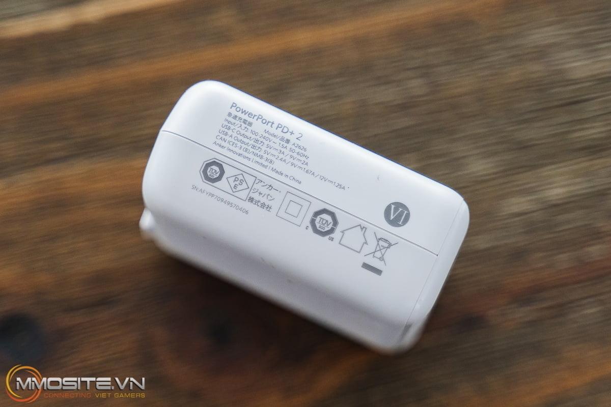 [Review] Anker PowerPort PD+ 2 - Củ sạc đáng tiền cho người dùng smartphone