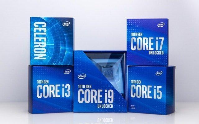 Intel Core i thế hệ 10 tranh tài - Core i3 đại chiến Core i5, Core i7 và Core i9