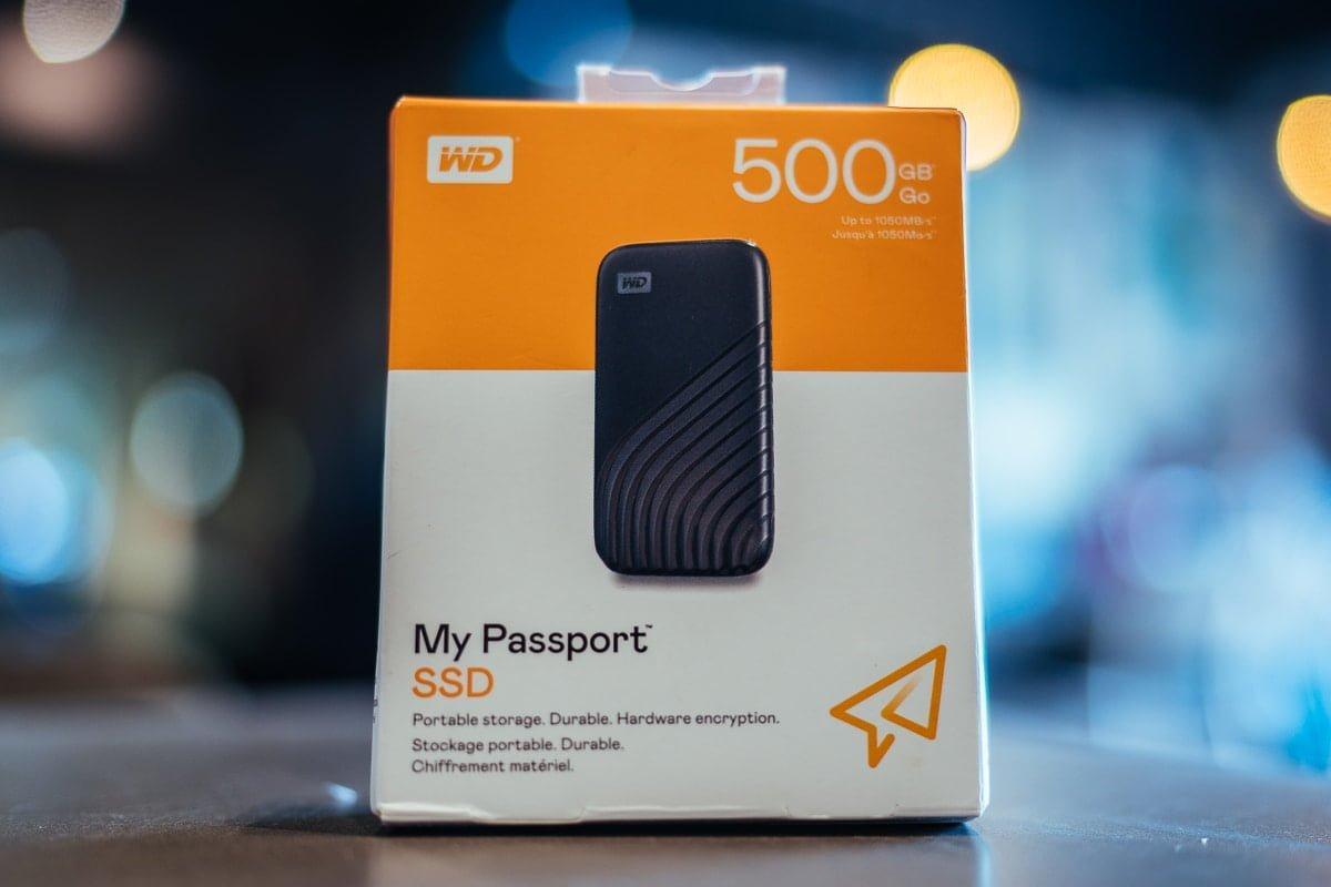 Đánh giá SSD di động WD My Passport SSD dung lượng 500GB - Phiên bản của năm 2020
