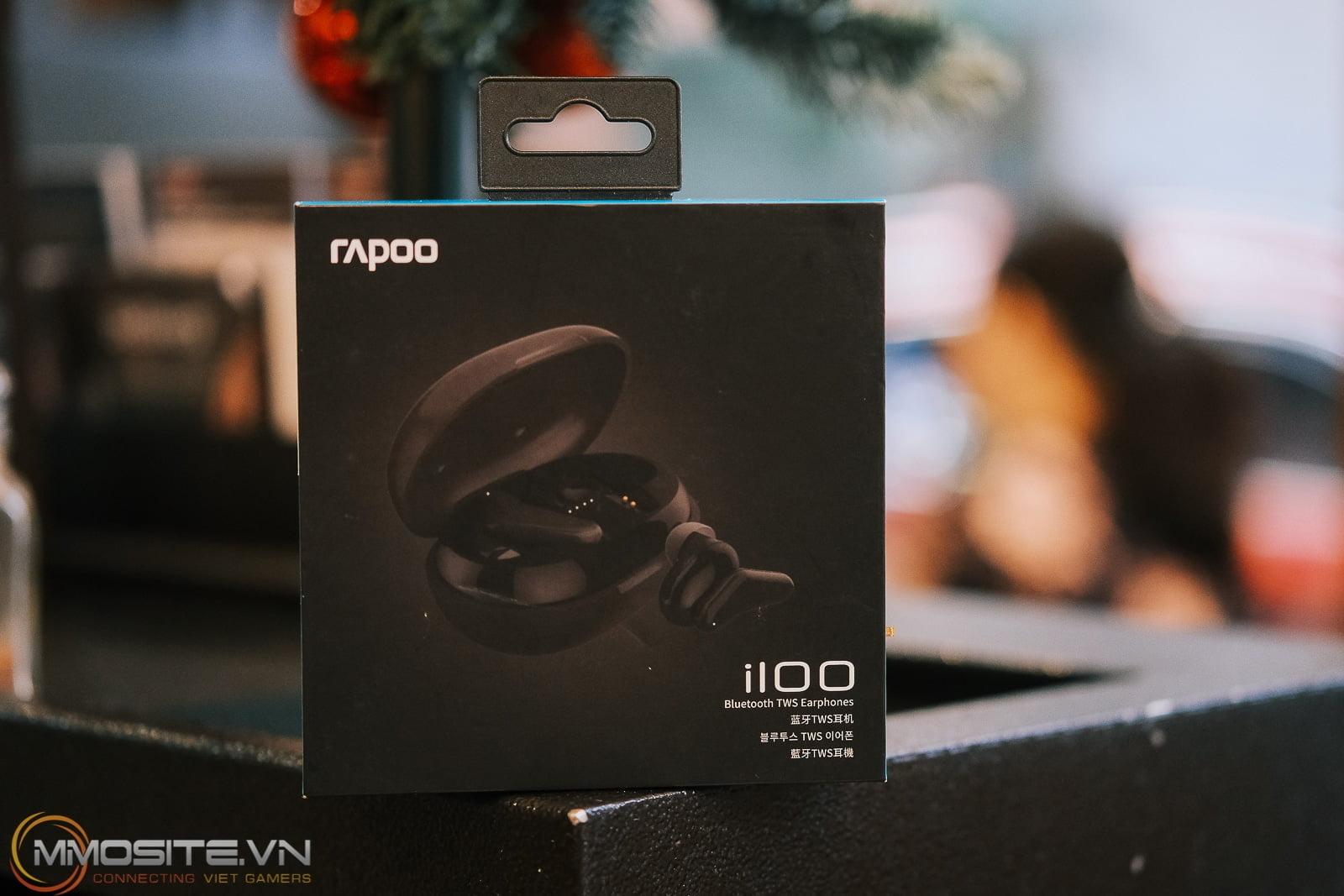 Trên tay tai nghe không dây Rapoo I100 - TWS giá siêu bình dân chỉ 500K