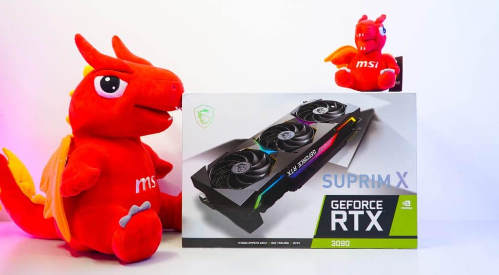 Cận cảnh RTX 3080 và 3090 Suprim X siêu cấp đến từ MSI