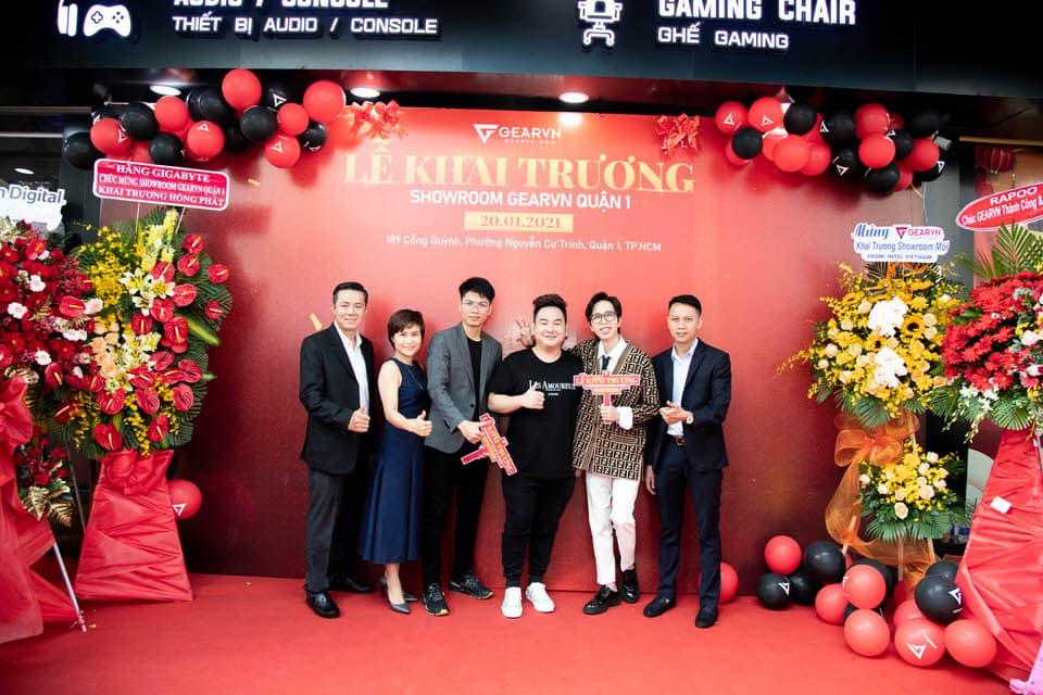 GearVN khai trương showroom Hi-end PC và gaming gear ngay tại trung tâm thành phố Hồ Chí Minh