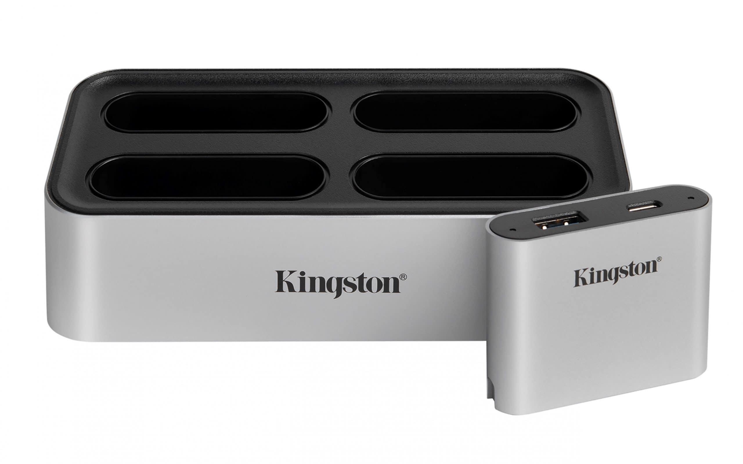 [CES 2021] Kingston Hé Lộ Dòng Sản Phẩm SSD NVMe thế hệ Mới Và Ra Mắt Bộ Chuyển Đổi Lõi Kết Hợp Cùng Đầu Đọc