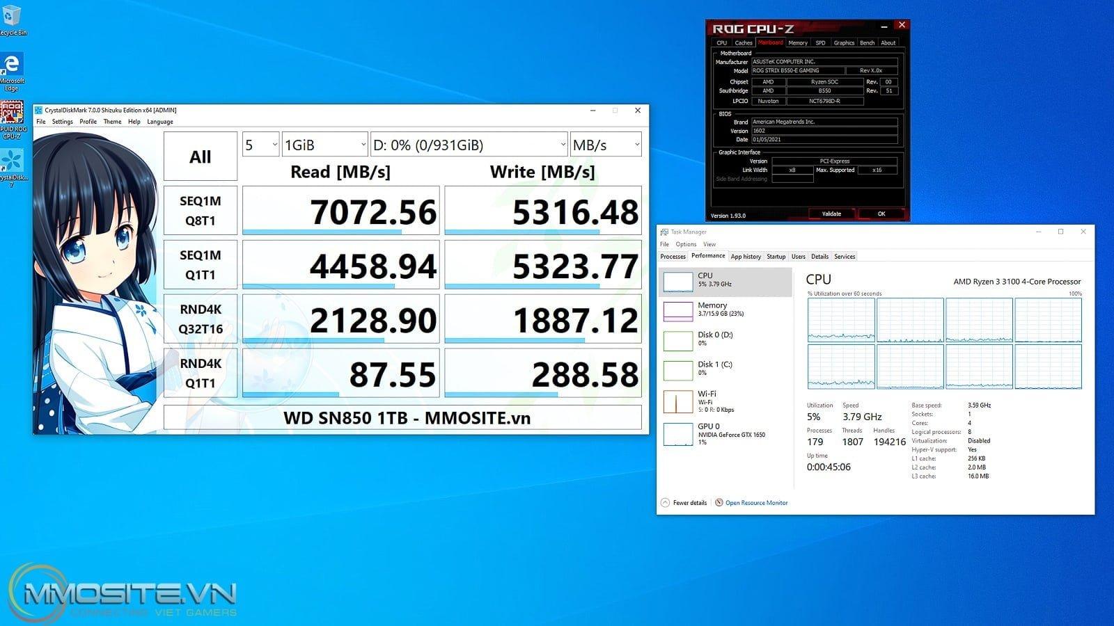 """Đánh giá nhanh WD_Black SN850 - trải nghiệm tốc độ SSD Gen 4 """"nhanh như vũ bão"""""""