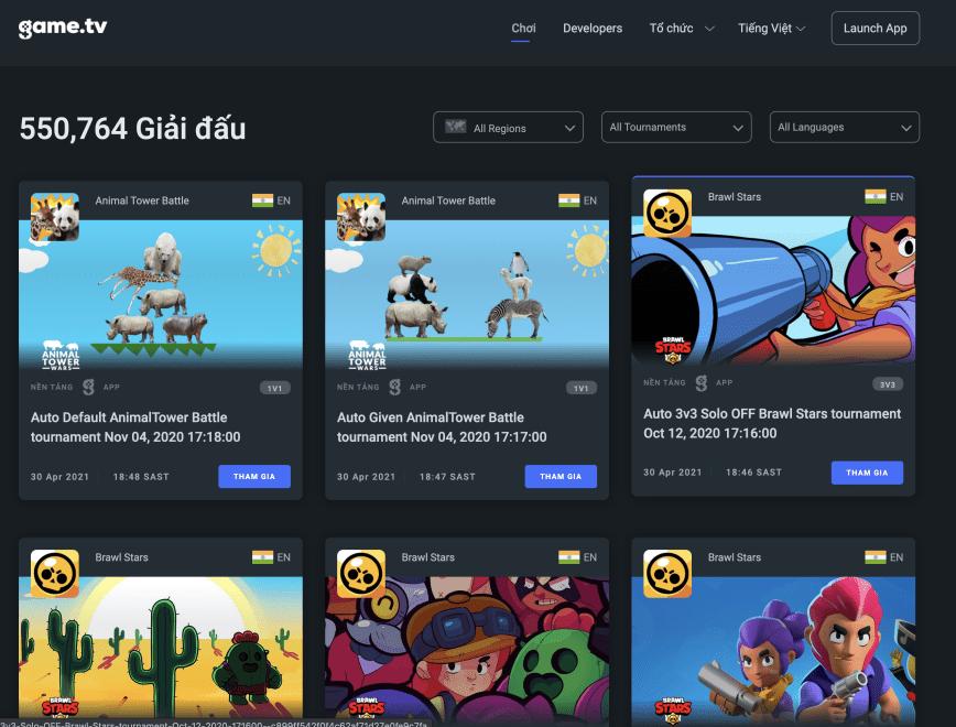 game.tv trở thành nền tảng thể thao điện tử di động hàng đầu với hơn 11 triệu người dùng trên toàn cầu