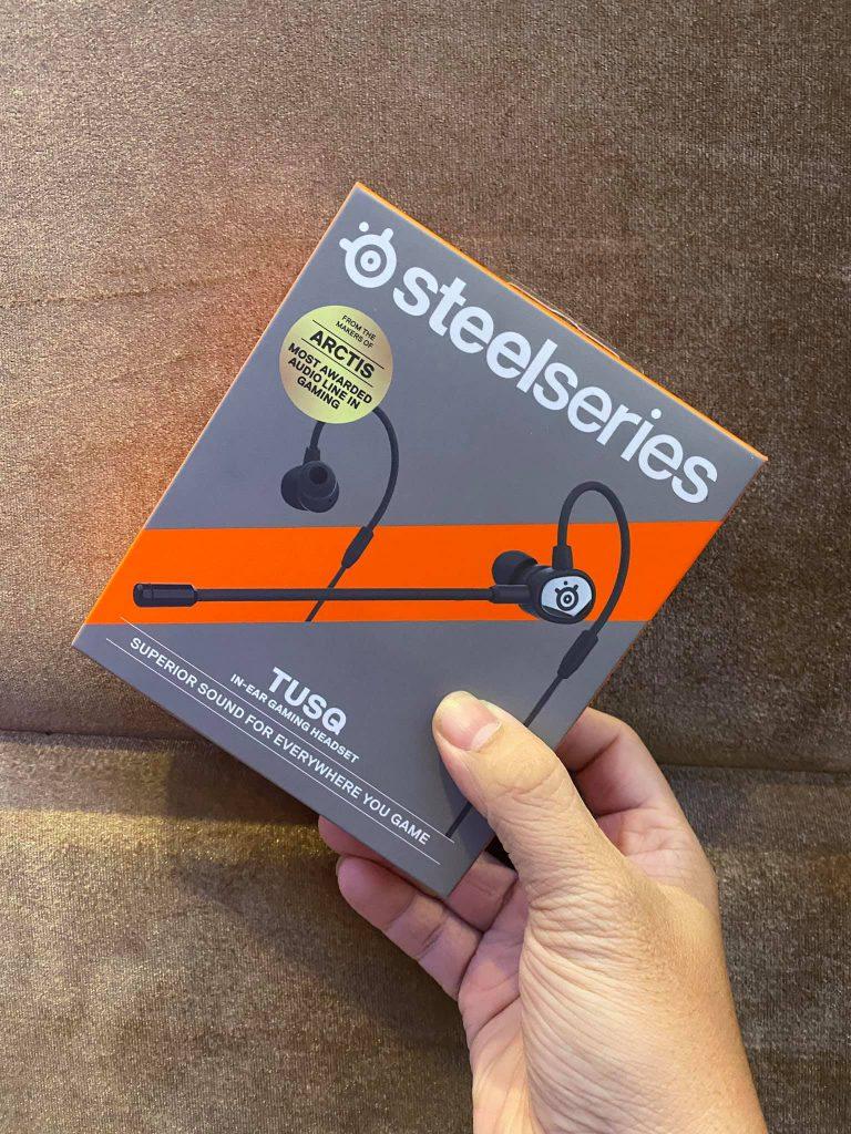 Trên tay SteelSeries TUSQ: tai nghe esports đáng mua nhất thời điểm hiện nay