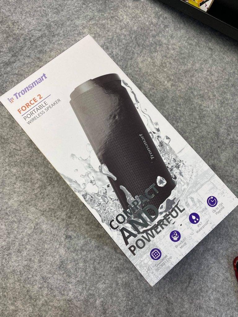Trên tay Tronsmart Force 2 -  loa di động giá mềm, có chống nước