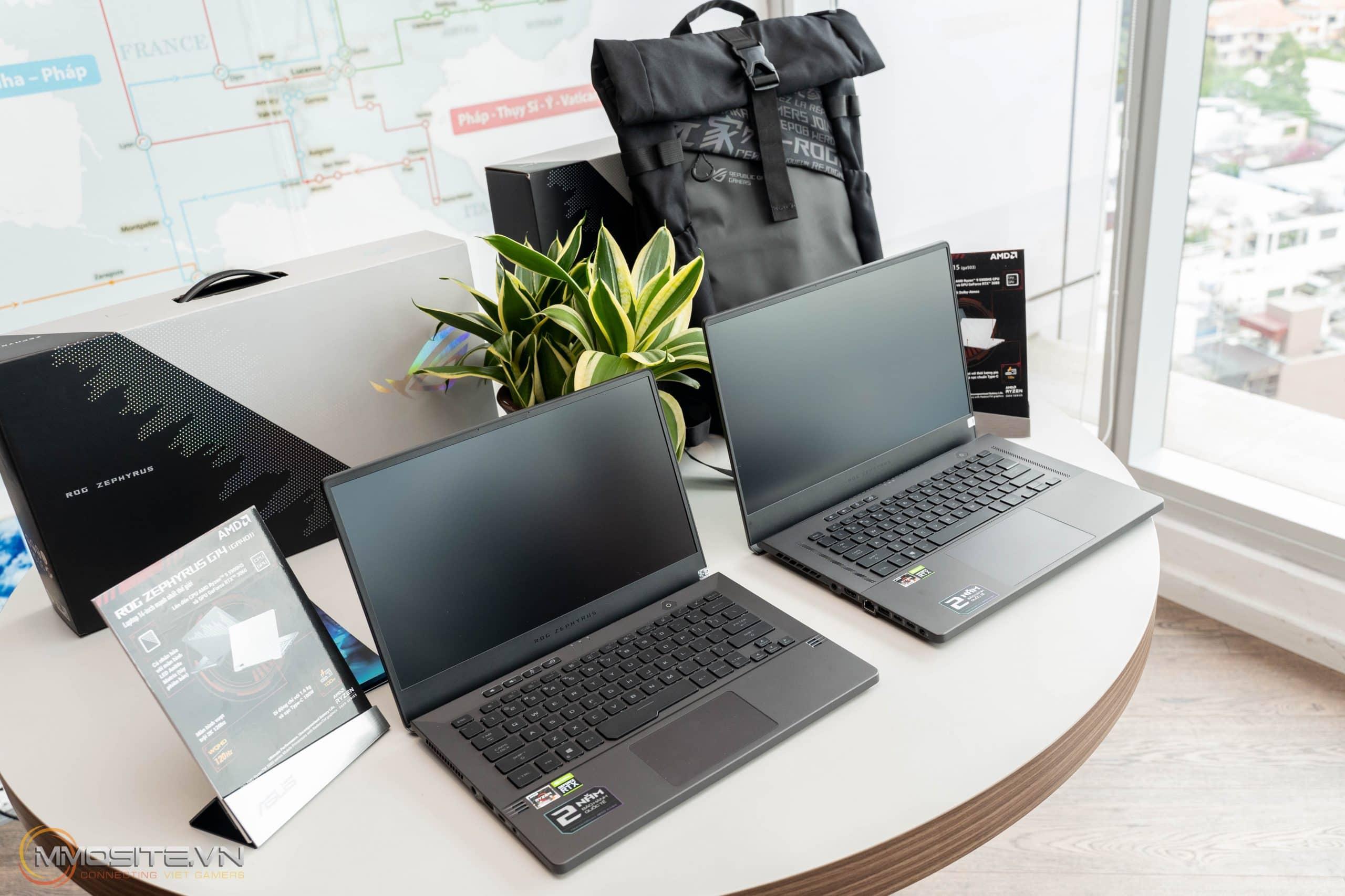 Trên tay ASUS ROG Zephyrus G14 và G15 phiên bản 2021- bộ đôi laptop gaming gọn nhẹ cấu hình cao