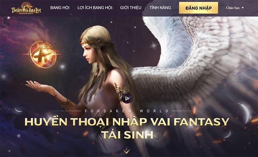 Forsaken World: Thần Ma Đại Lục cho phép đăng ký tải trước
