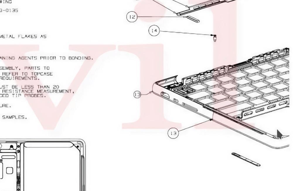 Rò rỉ hình ảnh sơ đồ cấu tạo Macbook Pro 2021: cổng sạc MagSafe, khe thẻ SD