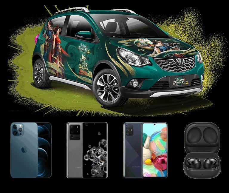 Võ Lâm Truyền Kỳ 1 Mobile chính thức ra mắt vào 07/04 cùng sự kiện tặng xe Vinfast