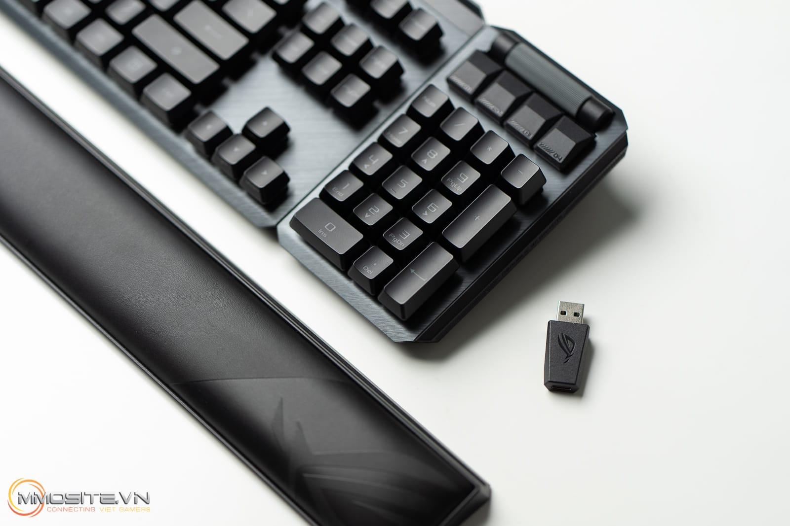 Đánh giá nhanh ASUS ROG Claymore II - bản cải tiến đầy mạnh mẽ với ROG RX Switch