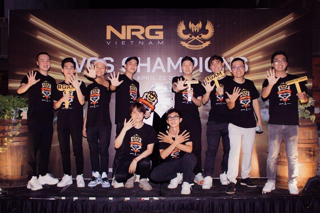 NRG ASIA là chủ sở hữu mới của GAM ESPORTS