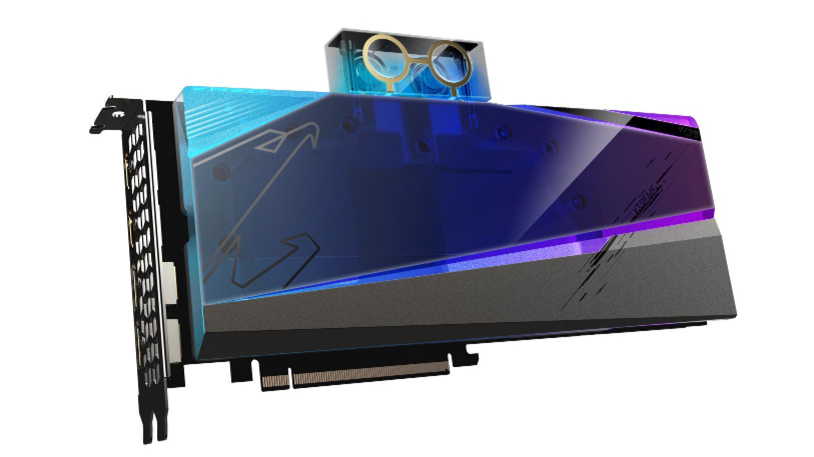 GIGABYTE ra mắt card AORUS RX 6900 XT WATERFORCE WB 16G có khả năng phát hiện rò rỉ nước