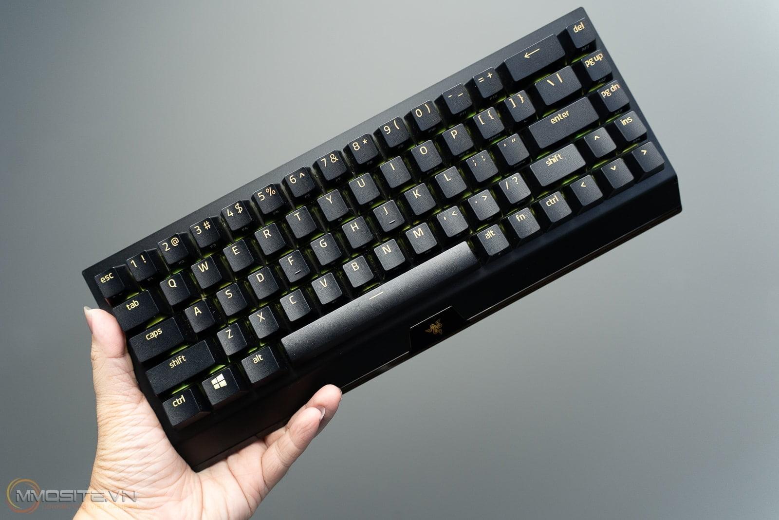Đánh giá bàn phím Razer BlackWidow V3 Mini HyperSpeed: sang, xịn, gọn nhẹ