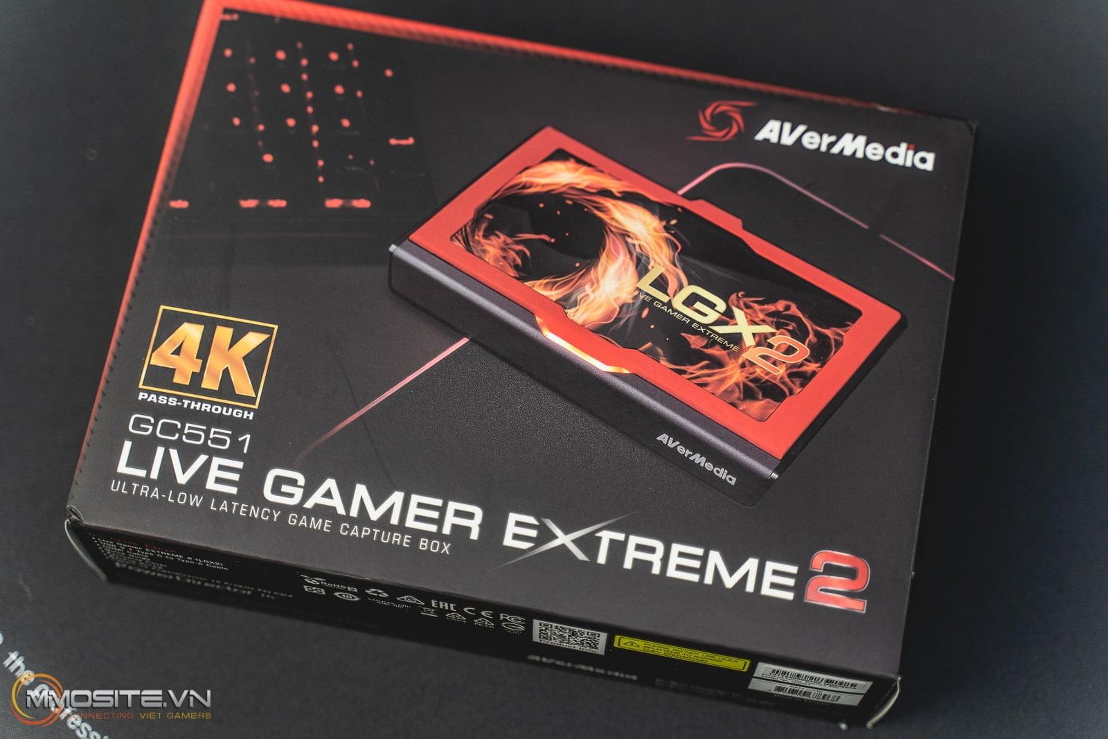 """Trên tay AverMedia LGX2 GC551- thiết bị giúp bạn trở thành streamer """"xịn"""" trong vòng 3 nốt nhạc"""