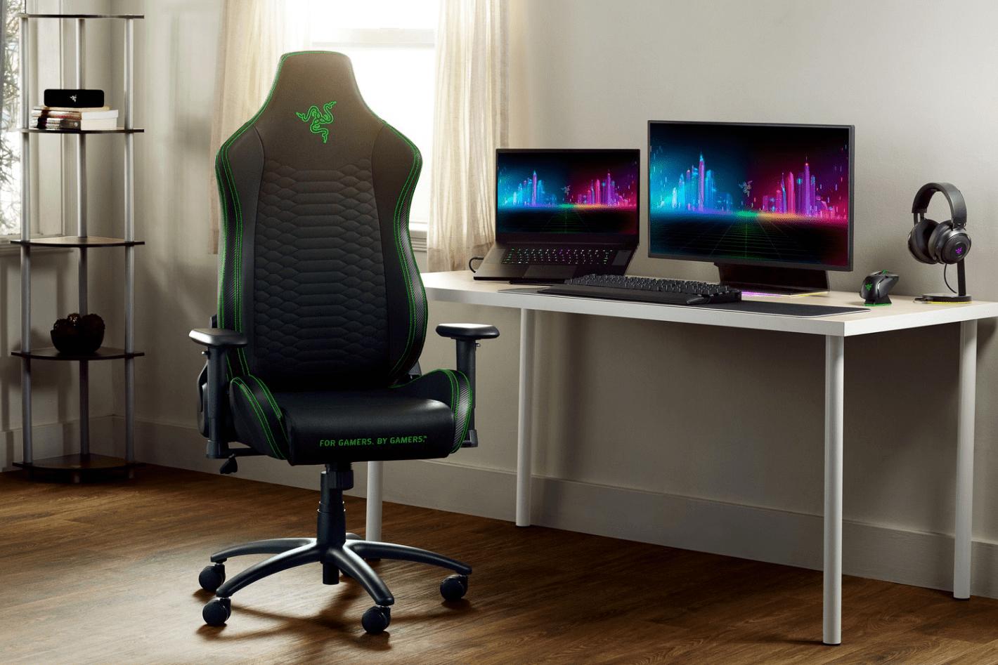 RAZER ra mắt ghế gaming ISKUR X - phụ kiện chơi game xứng tầm game thủ chuyên nghiệp