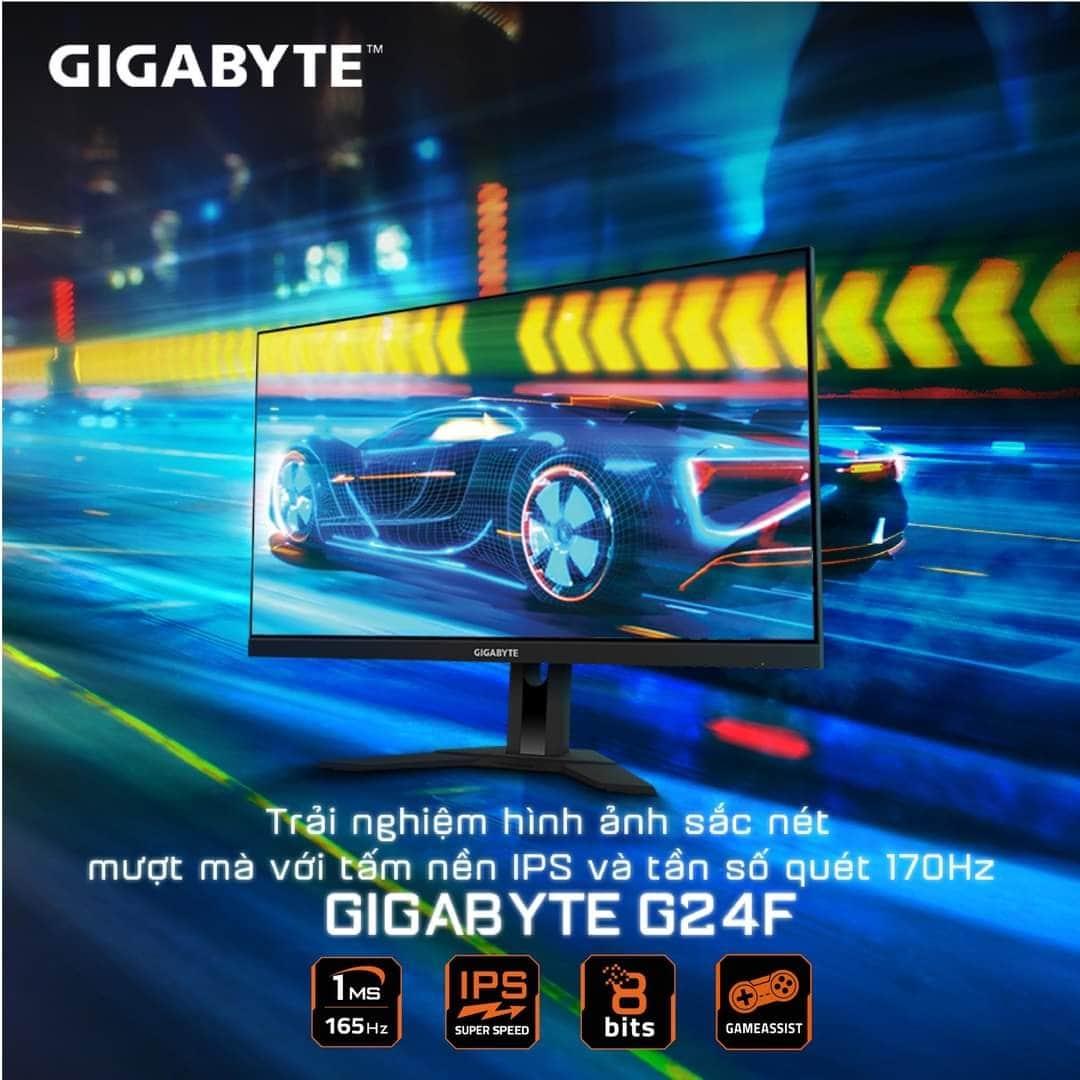 Vì sao màn hình GIGABYTE G24F đoạt giải màn hình tốt nhất?