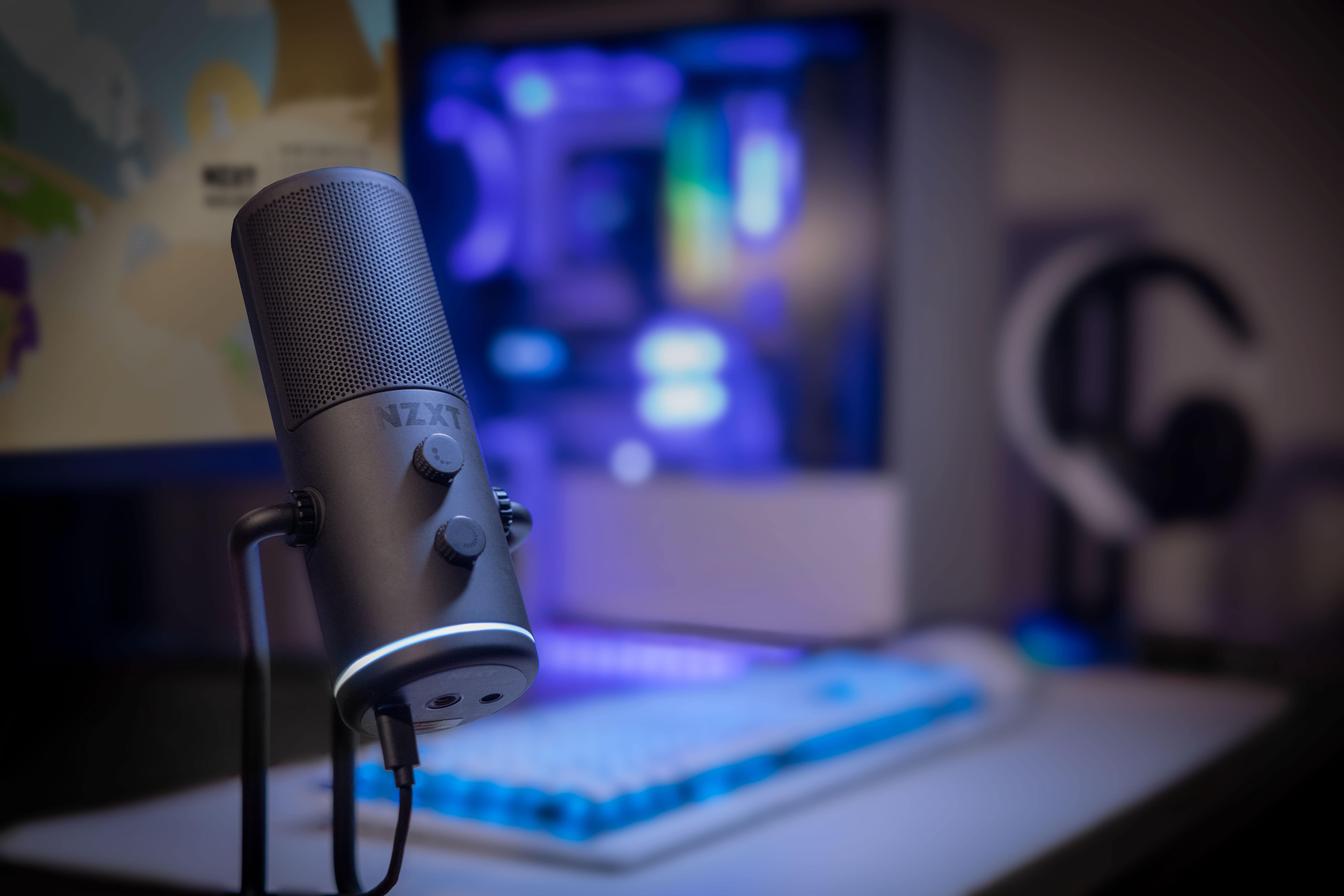 NZXT ra mắt microphone mới mang tên CAPSULE dành cho streamer
